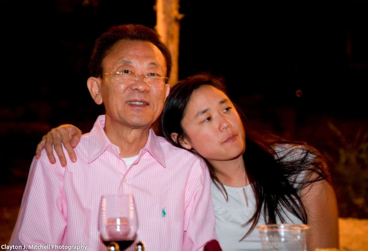 Rosylyn Rhee And Her Father