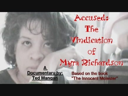 Poster For Accussed: The Vindication Of Myra Richardson