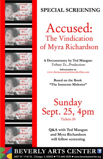 Screening Of Accused, A Documentary About Agnès Films Member Myra Richardson