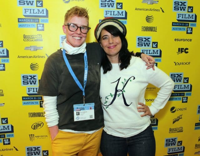 Sini Anderson With Kathleen Hanna At SXSW Film Festival