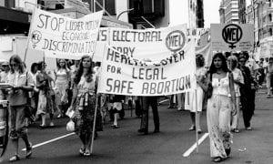 Women's Electoral Movement Protest, International Women's Day, 1979. (Sydney, Australia)