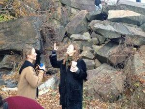 Deborah and Amy Ferguson Behind the Scenes