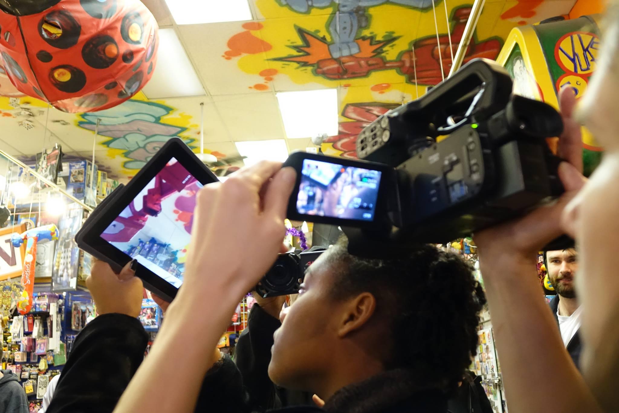 Women Filming