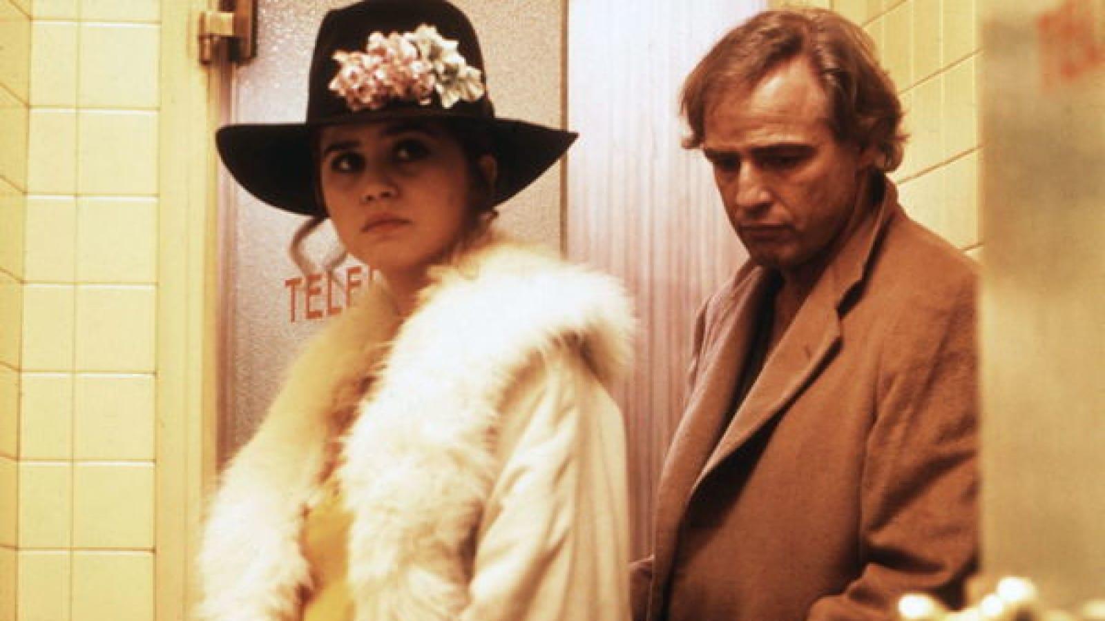 Last Tango In Paris / Ultimo Tango A Parigi (1972) | Pers: Maria Schneider, Marlon Brando | Dir: Bernardo Bertolucci | Ref: LAS053AH | Photo Credit: [ The Kobal Collection / Pea ] |