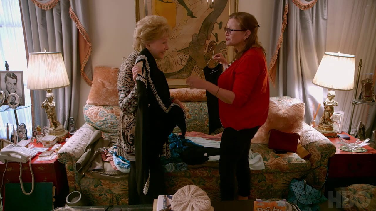 """Debbie Reynolds And Carrie Fisher In """"Bright Lights"""""""