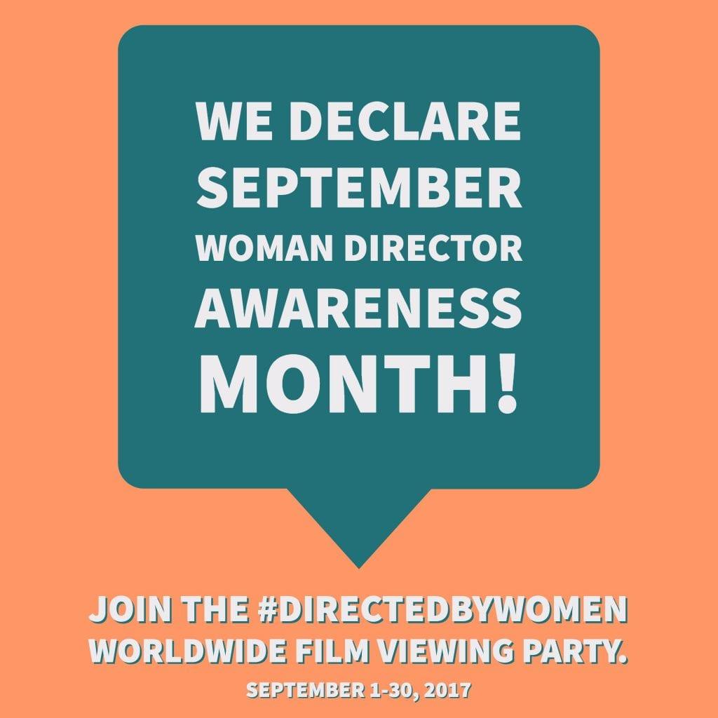 September is Women Directors Awareness Month