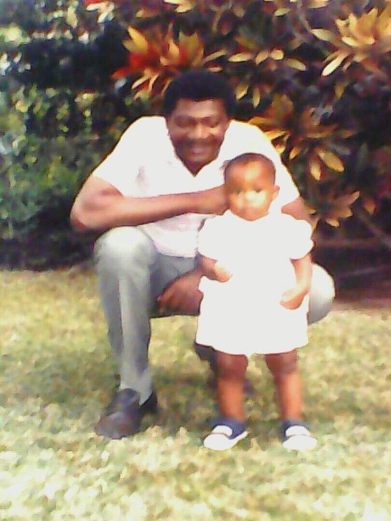 Sisiyanti and her father