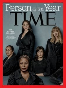 Time picks #MeToo Campaign for Person of Year (time.com).