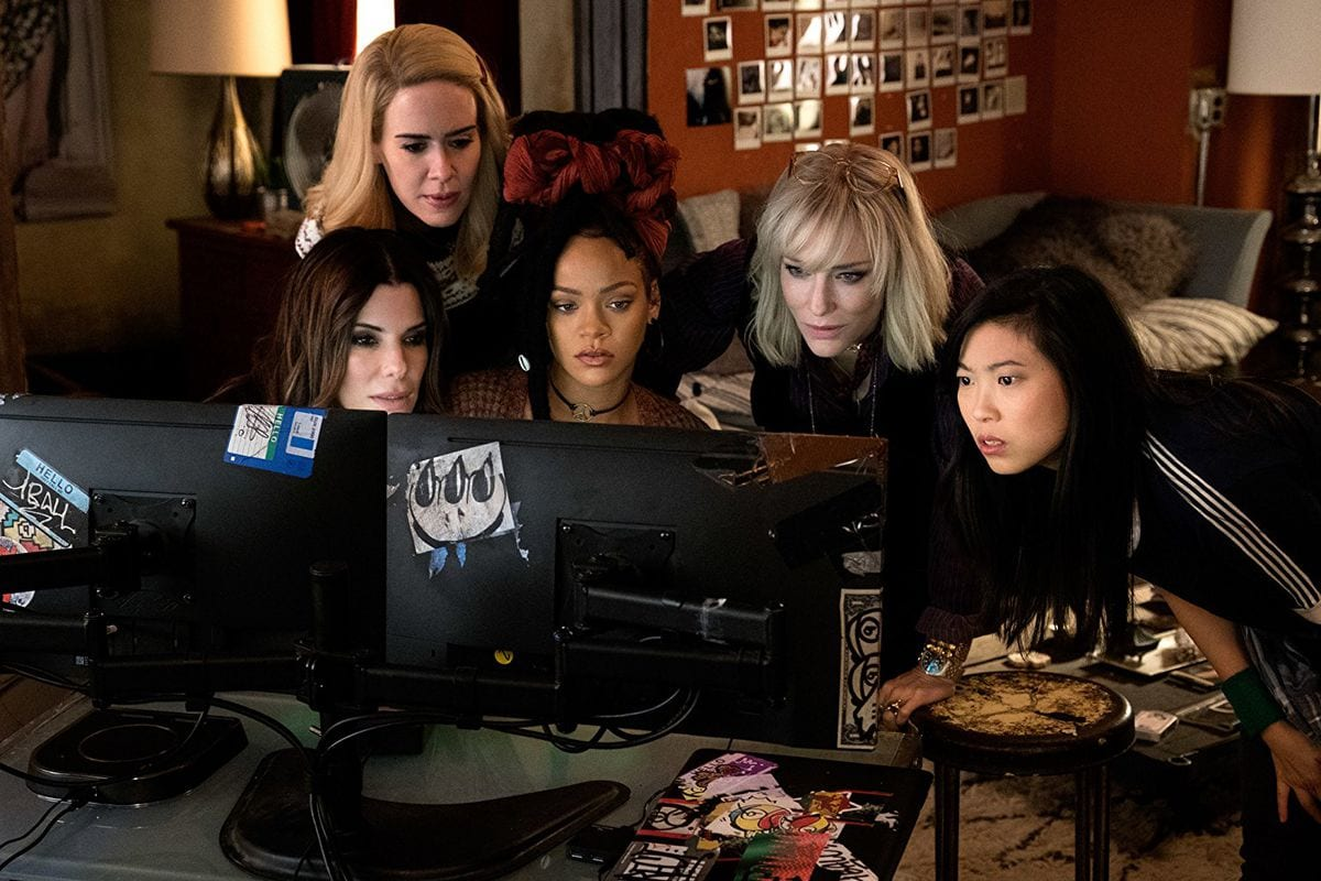 The Ocean's 8 Female Cast Teams Up To Plan A Heist.
