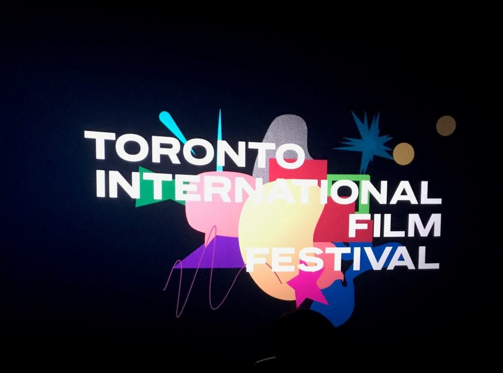 The 2019 TIFF logo that appeared before every screening